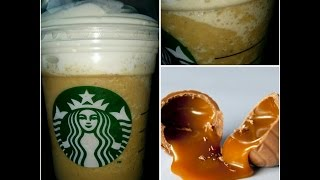 Iced Caramel Macchiato Frappuccino (secret Starbucks Menu)