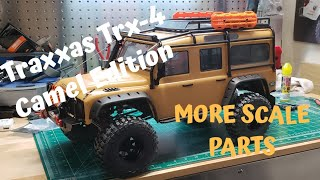 Traxxas Trx-4 Camel Edition gets more Scale Accessories