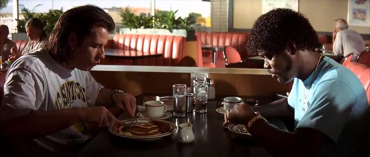 фото кафе в стиле криминального чтива головке полового члена