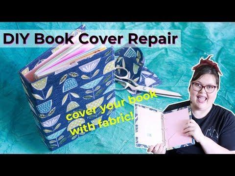 DIY Book Cover Repair