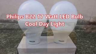 Philips B22 17 Watts LED Bulb Cool Day Light!