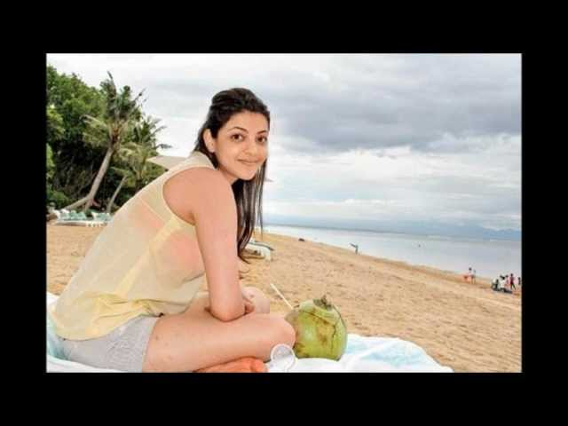 Kajal Agarwal's Unseen Real Life Pic's. Travel Video