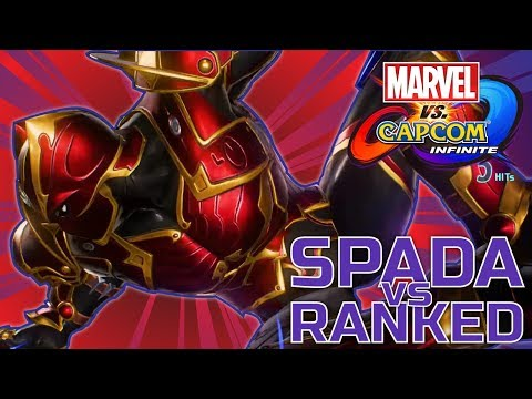 Trying Out Black Panther! [Marvel vs Capcom: Infinite] -- Spada vs Ranked -- Ep 6