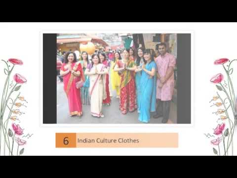 Traditional Indian Clothing Culture