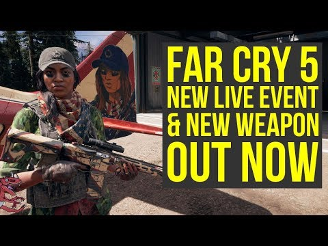 Far Cry 5 Live Event Sharp Shooter OUT NOW & M9 Pistol Out For Everyone! (Far Cry 5 Sharp Shooter)
