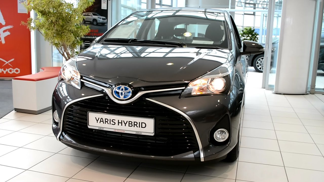 2015 new toyota yaris hybrid exterior and interior youtube. Black Bedroom Furniture Sets. Home Design Ideas