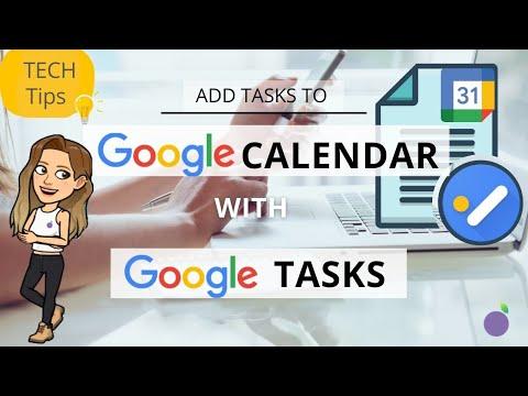 📆  Using Google Tasks in Google Calendar: Level Up Your Productivity!