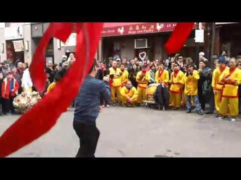 2016 Boston Chinatown Lions Dances Parade