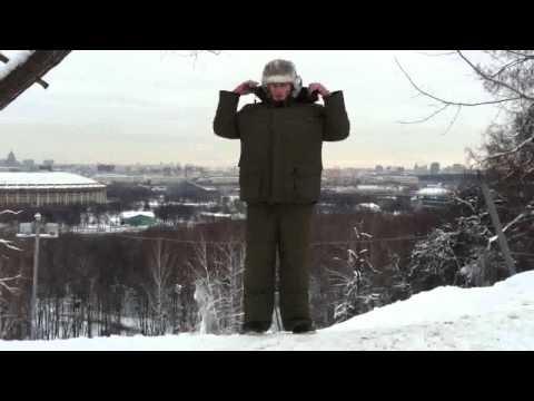 видео: зимний костюм Полюс v Компании Восток