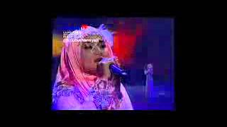 Saat Terakhir(setia band) - Fatin Shidqia on Global Seru Awards, 15-4-2015