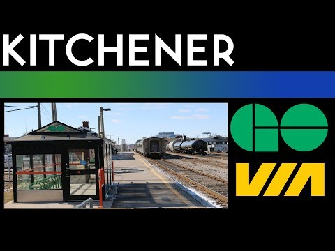 Regional Terminal Walkthrough - Kitchener Station
