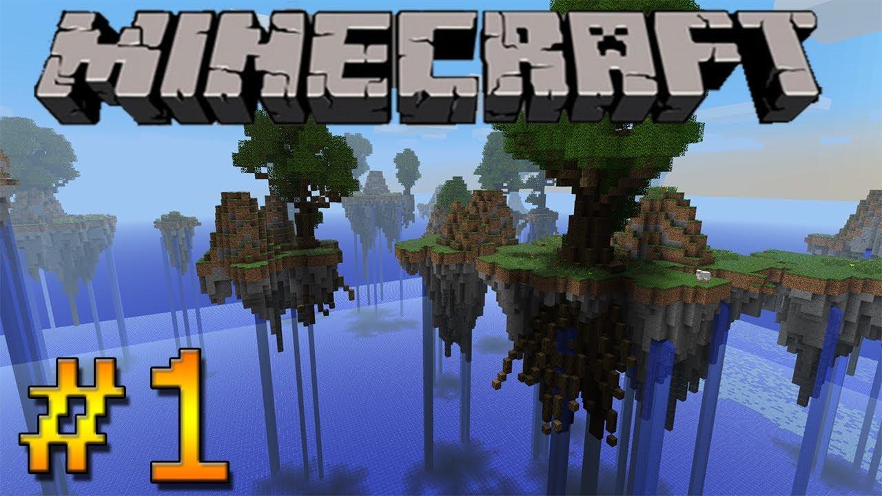 Lets Play Minecraft AdventureMaps HD Floating Island Survival - Minecraft hauser verschonern
