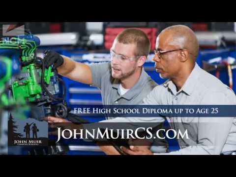 John Muir Charter School promotional video