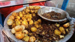 Special Tasty food Ande muri or Dim Muri Recipe Bengali street food Chole vuna best tasty snacks
