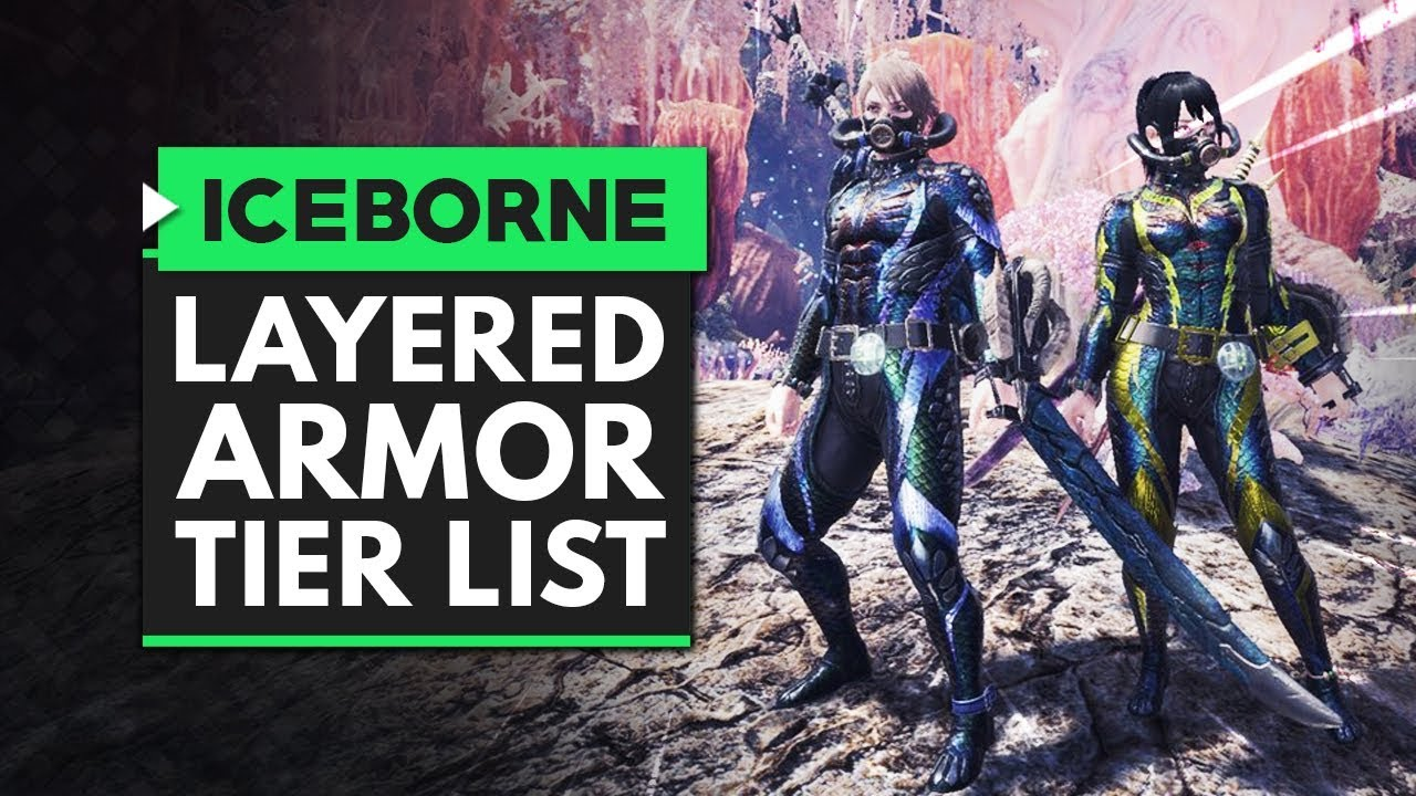 Monster Hunter World Iceborne | The Ultimate Layered Armor Tier List thumbnail