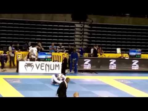 IBJJF Pan Ams 2015 Niko Sindayen First Match