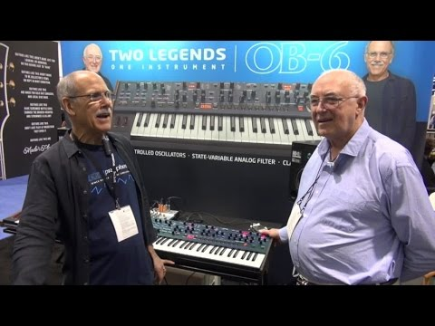 [NAMM] Dave Smith Instruments OB-6