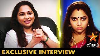 கஷ்டமா இருக்கும், குழந்தையை கோபமா பார்க்கும் போது   Actress Shamitha Shreekumar Interview  Kadambari