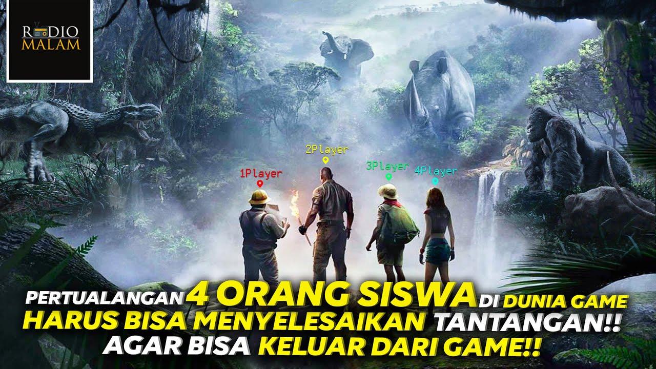 4 PELAJAR CULUN TERJEBAK DI DUNIA GAME - Alur Film Jumanji : Welcome To The Jungle (2017)