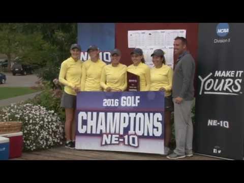 2016 NE-10 Women's Golf Championship