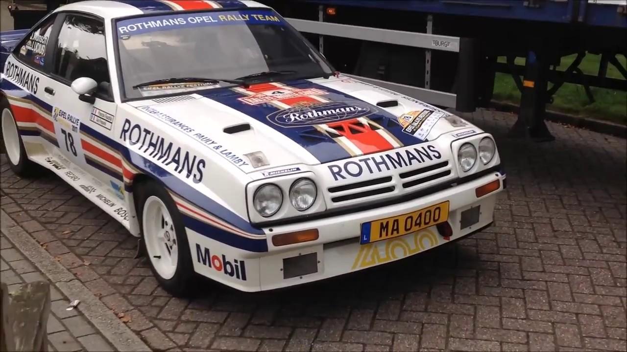 Opel Manta 400 Group B Big Slides sideways rallying ... - photo#35