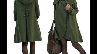 Wool Blend Coat Dress Collection Romance