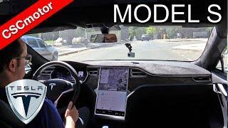 Tesla Model S - 2017 | Prueba en carretera