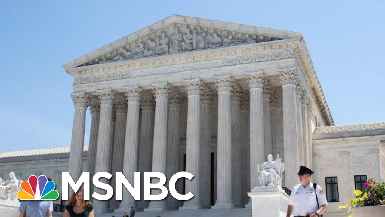 Supreme Court Decides Federal Courts Cannot Police Gerrymandering | Hallie  Jackson | MSNBC