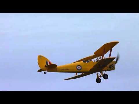 Tiger Moth Dynam Sussex Radio Flying Club