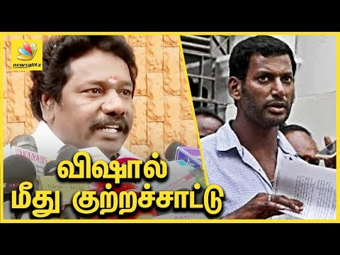 விஷால் மீது குற்றச்சாட்டு | MLA Karunas Speech on Vishal's Political Entry