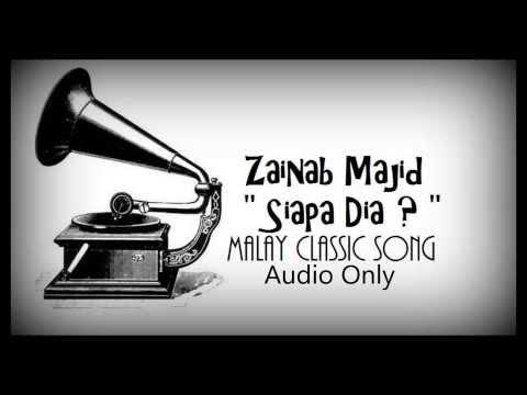 Siapa Dia by Zainab Majid 1960's Classic Song's (Lyrics In Description)