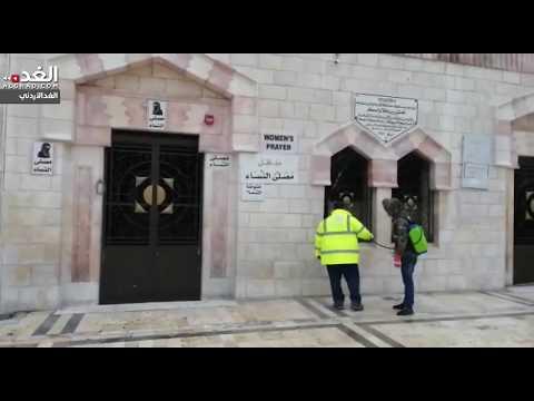 المسجد الحسيني خالٍ من المصلين في أول جمعة بعد القرارات الحكومية  - 12:59-2020 / 3 / 20