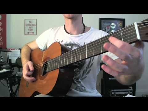 How To Avoid Unwanted Strings When Strumming Guitar Chords - Easy Beginners Technique Lesson