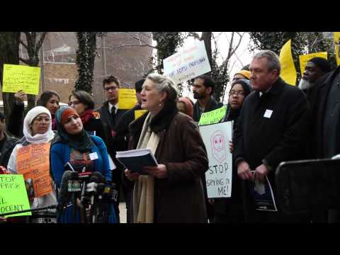 Mapping Muslims: Rally & Report Launch on NYPD Spying and It