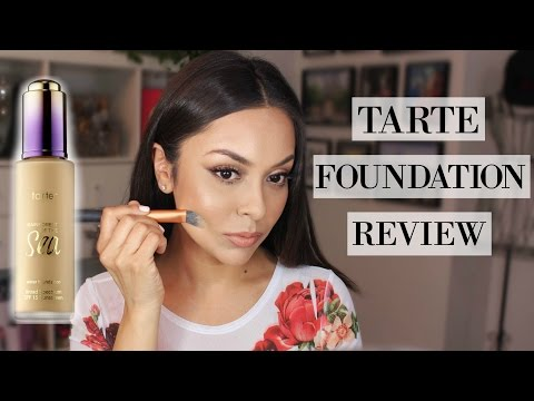 Tarte Rainforest Of The Sea Foundation Review - TrinaDuhra