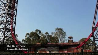 The BuzzSaw Ride - Dreamworld