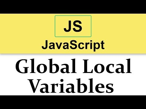 #15 JavaScript Tutorial | Scope Of Variables | Global Vs Local