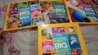 National Geographic kids 3 in 1 books setBooks reviewNerdy Review