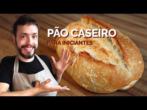 PÃO CASEIRO PARA INICIANTES: Receita fácil para quem nunca fez pão
