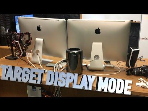 imac target display mode pc