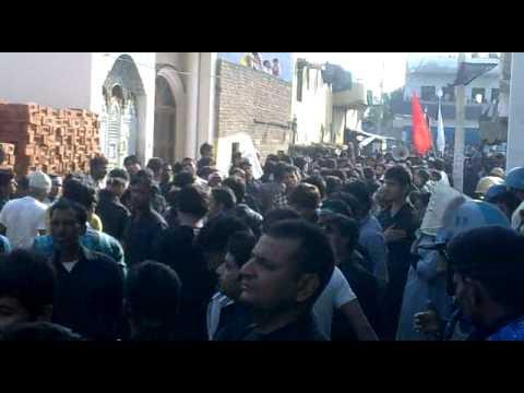 Abdullapur Meerut Azadari 10 Moharram 2012 13 Youtube