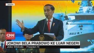 Saat Presiden Jokowi Bela Prabowo Dikritik Sering ke Luar Negeri