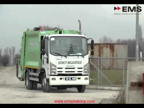 EMS Solid Waste Collection Vehicle And Transportation Manufacturer In Turkey   Waste Management