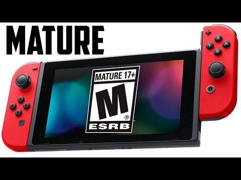 SWITCH GONE CRAZY!! Nintendo Goes Mature in Surprise Move