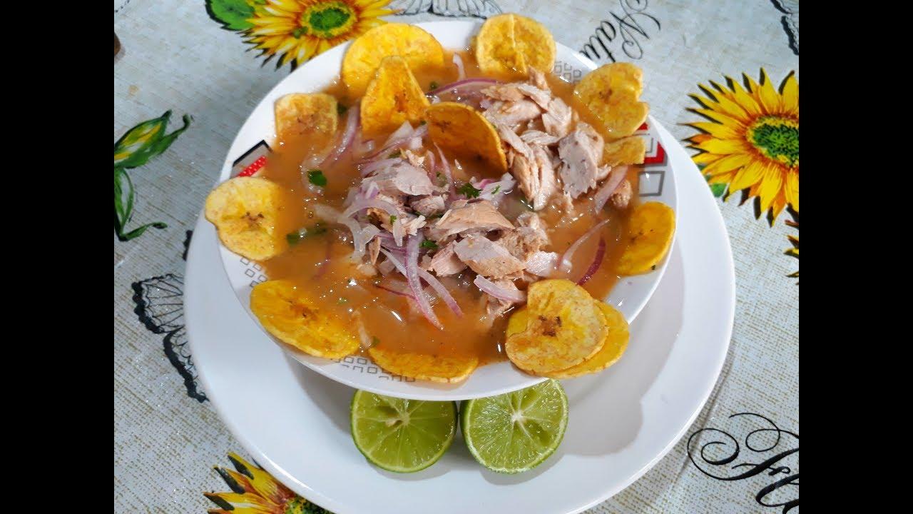 AUTENTICO ENCEBOLLADO ECUATORIANO Delicioso facil y