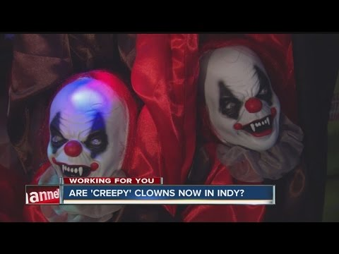 Clown sightings reported in Indianapolis