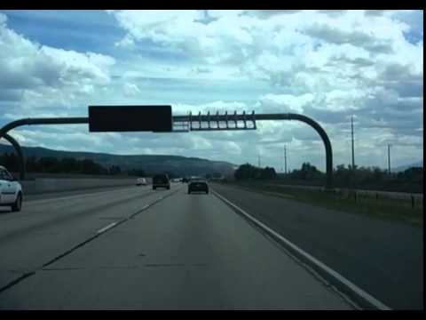 Interstate 15/Interstate 215 through North Salt Lake City, UT