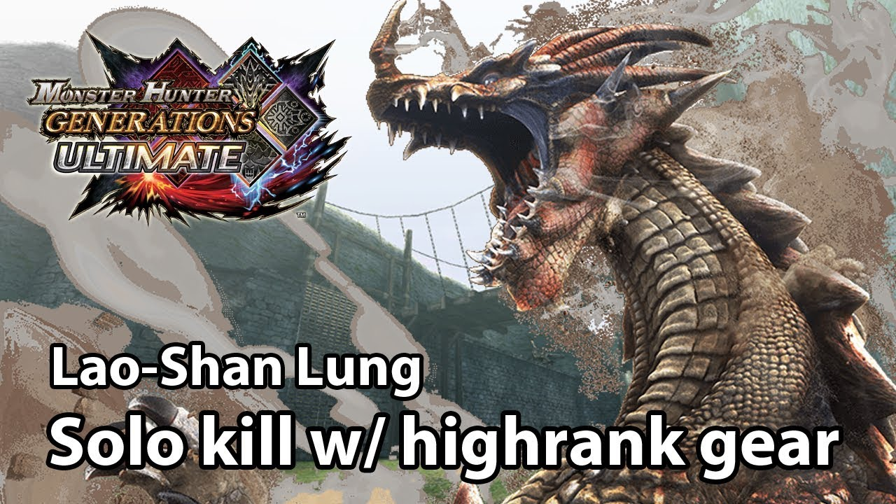 Mhgu G3 Urgent Lao Shan Lung Solo Kill With Highrank Equipment Valor Bow 22 47 Youtube Credit for this information goes to kingofmh from gamefaq's. mhgu g3 urgent lao shan lung solo kill with highrank equipment valor bow 22 47
