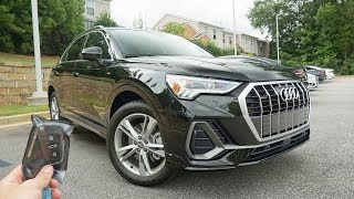2019 Audi Q3: Start Up, Test Drive, Walkaround and Review