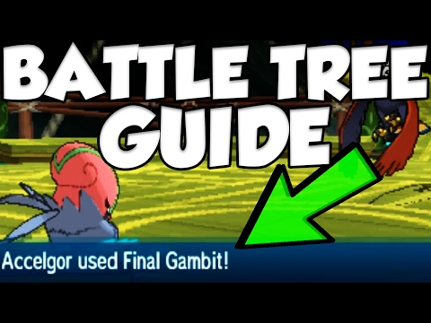 Amazing Battle Tree Strategy And Battle Tree Guide For Pokemon Sun And Moon!